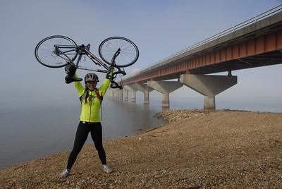 2013 & 2014 Bicycle Adventure leader Melissa Merrill.