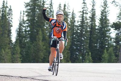A rider in Colorado in 2013.