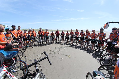 Conclusion of the 2014 Bicycle Adventure in Astoria, Oregon.