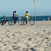 Beach bike path