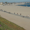 Beach...walkers, runners and cyclists..room for everyone