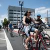 Dedication of Broadway Separated bike lanes