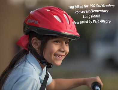 Bikes for kids - 190 bikes for 190 kids