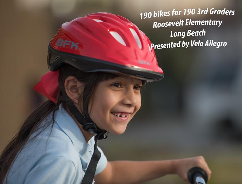 190 Bikes for 190 3rd Graders