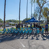 Houghton Park kick off of bike ride