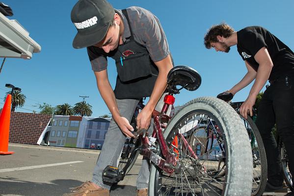 Helmet and Bike Ed program - McBride