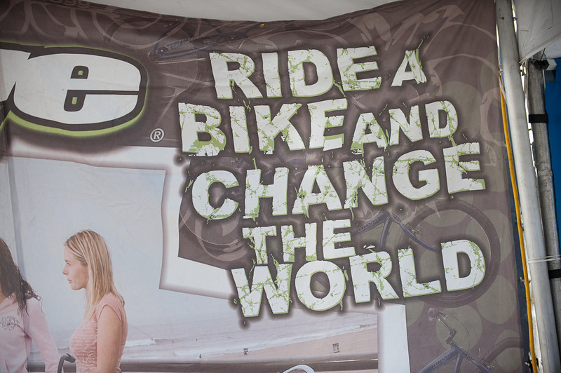 Bikes are changing the world