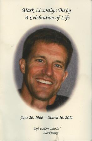 Mark Bixby...memorial