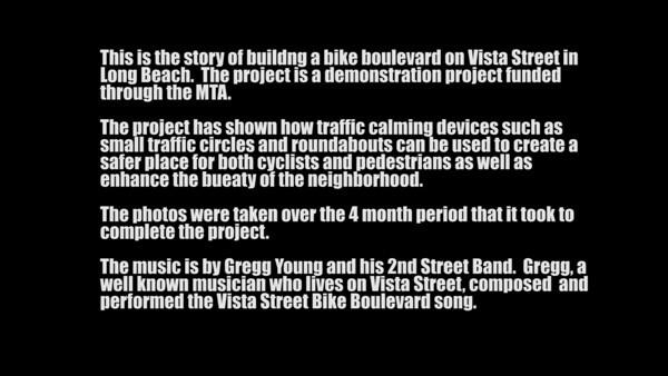 Vista Street Bike Blvd
