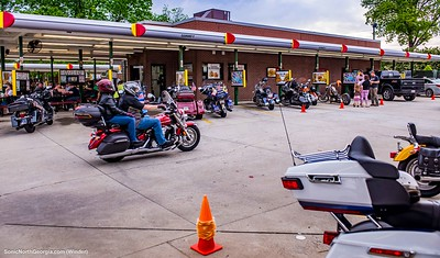 Bike Night Sonic Drive-In Winder GA May 2018