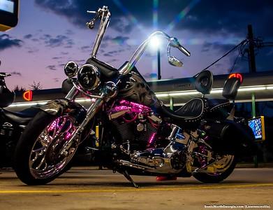 Bike Night Sonic Lawrenceville GA Sept 2017