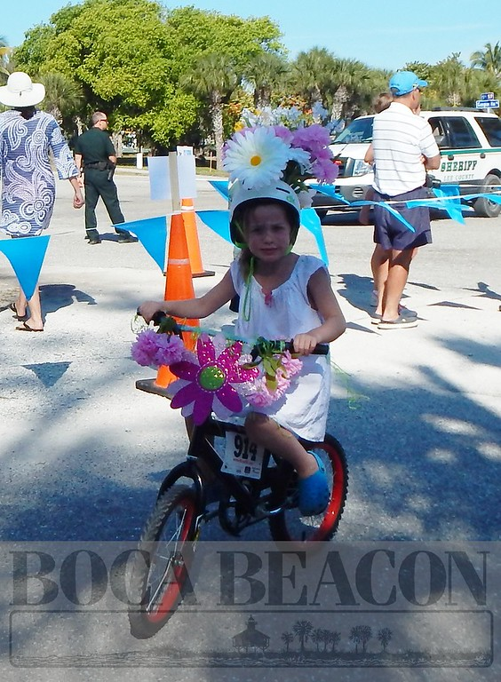 Boca Grande Woman's Club Bike Parade and Spring Fair 2015