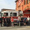 Leominster Firefighters with the riders