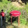 Bob at Mt Veeder Sign