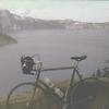 11 Ray's bike at Crater Lake