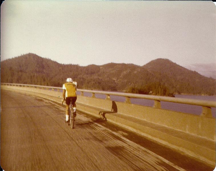 1 Bob Liles passing a Lake