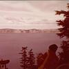 12 Riders admiring Crater Lake