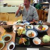 In Teshio we found a large bathhouse inn where we got rooms, access to the pubic baths, a great dinner and a decent breakfast for JPY 8000, about USD 80. The meal alone would have cost more in Tokyo.
