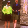 Day 4 - Chris and me ready to embark on a 140km ride up to Teshio, on the West coast of Hokkaido.