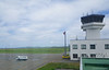Wakkanai Airport, Hokkaido, the northern most airport in Japan.