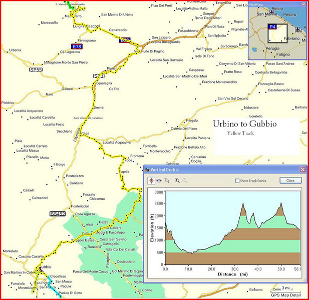 10-Italy Trip - Urbino to Gubbio
