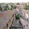 Perugia Skyline - aquaduct walkway below
