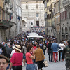 Strolling the main street of Perugia