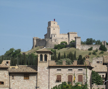 Rocca Maggiore Fortress, overlooking Assisi