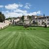Peace - lawn outside Bascillica