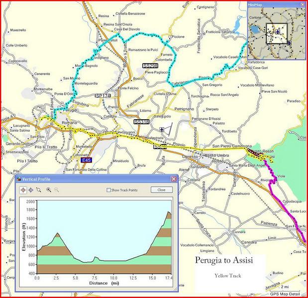 11-Italy Trip - Perugia to Assisi