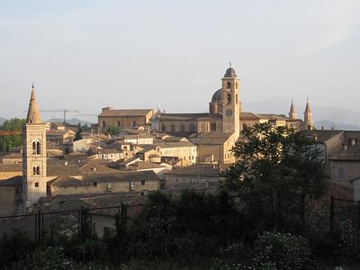 Urbino skyline