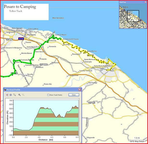 10-Italy Trip - Pesaro to Camping