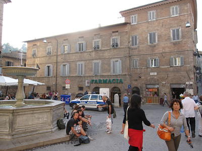 Main Piazza, Urbino
