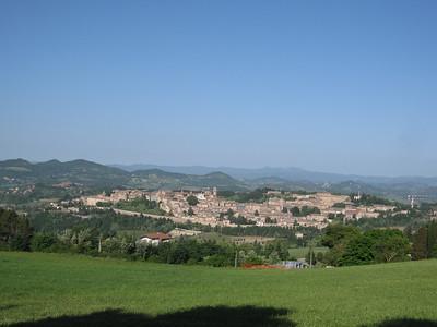 Urbino from campground