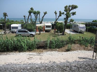 Adriatic Beachside camping