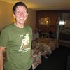 Tom at the Shasta Lodge, Redding