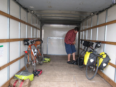 Packing up and back to Redding