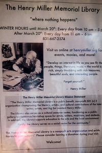 Henry Miller Library - a must see