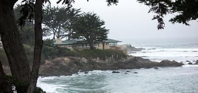 Farnk Lloyd Wright house on Carmel Bay