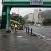 Morning launch in Tokushima