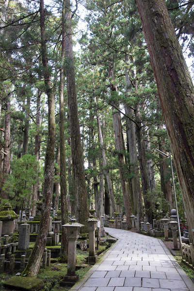 Okunoin Cemetery, Koyosan