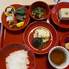 Vegetarian ;unch at Shigetsu Restaurant in the Tenryū-ji Temple