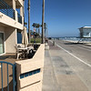 Our patio in Oceanside