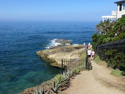Shore access path LJ Coast 120818 P2500718