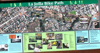 Bike Path map sights LJ Coast 120818 P2500689