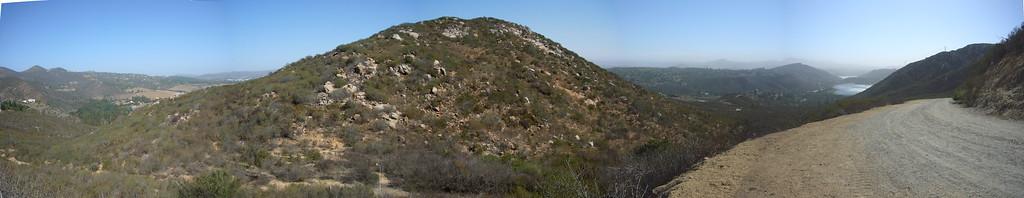 Looking back Climbing Del Dios Highlands 071021 P1160410-14