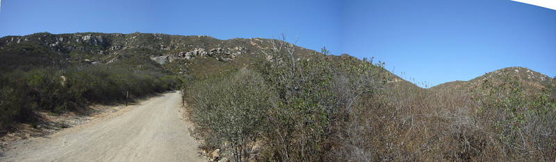 Looking ahead Climbing Del Dios Highlands 071021 P1160399-403