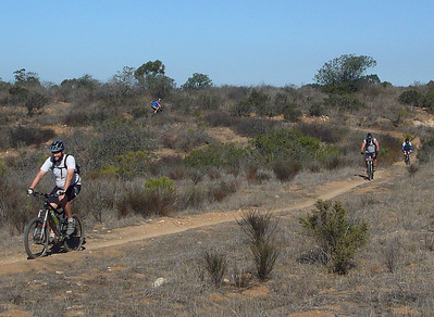 Four STR riders in Pumpkin Patch STR ride Penasquitos E 071124 crbdShrP1160626