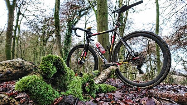 Stockend muddy winter CX ride