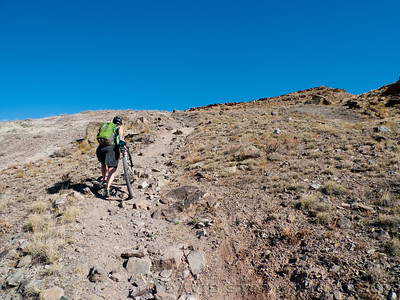Hike-a-bike.